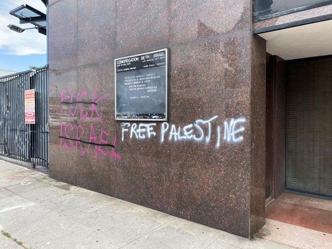 Vandaliser une synagogue