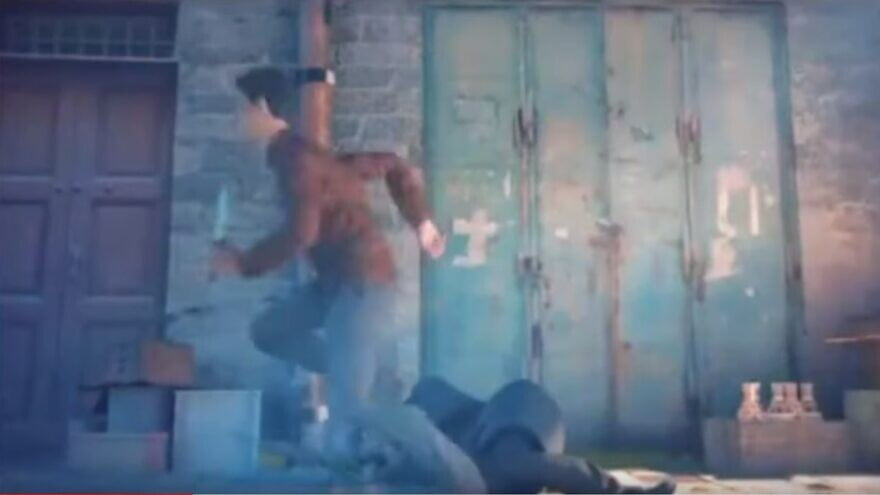 Une vidéo animée qui glorifie la terreur palestinienne et présente quatre attaques meurtrières réelles contre des Israéliens a été supprimée par TikTok. Source: Capture d'écran via Palestine Media Watch.