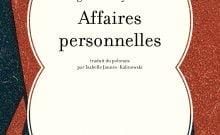 Livre juif : Affaires personnelles