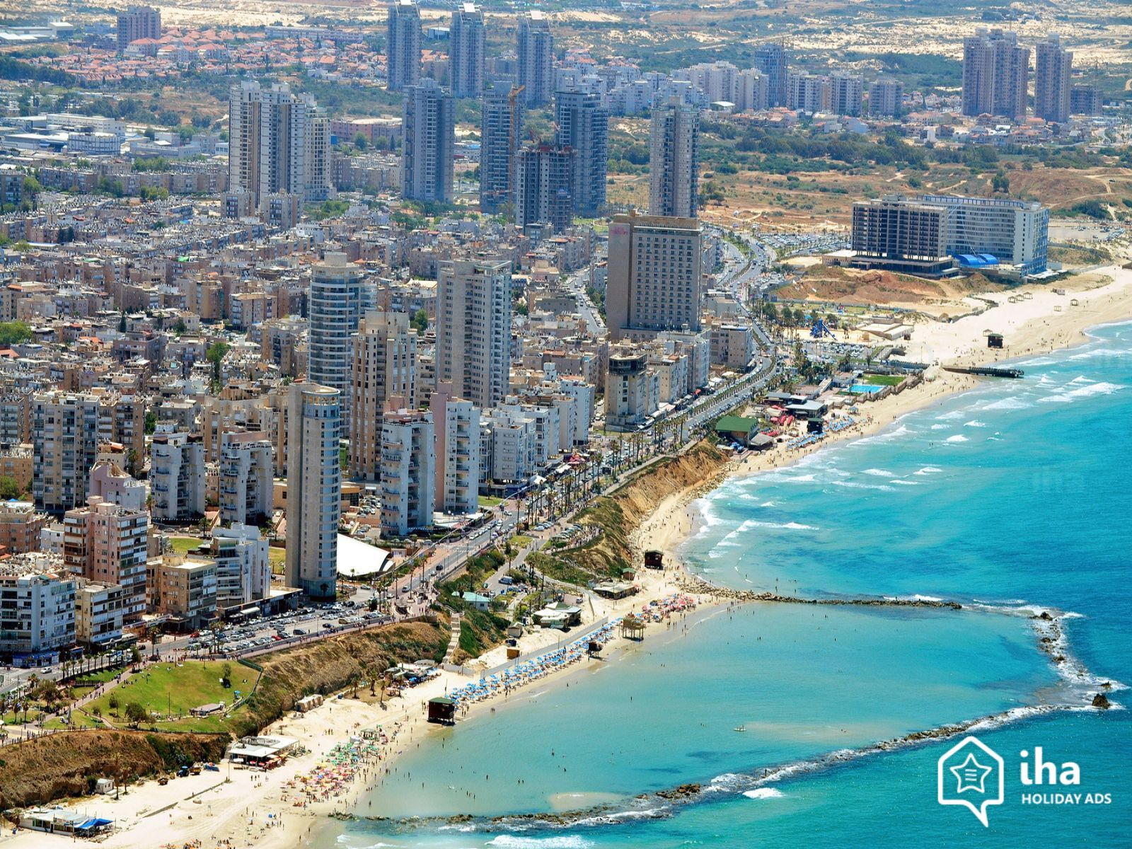 Bat Yam Ville israélienne proche de Tel Aviv leader du renouvellement urbain