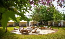 Le glamping camping glamour en israel