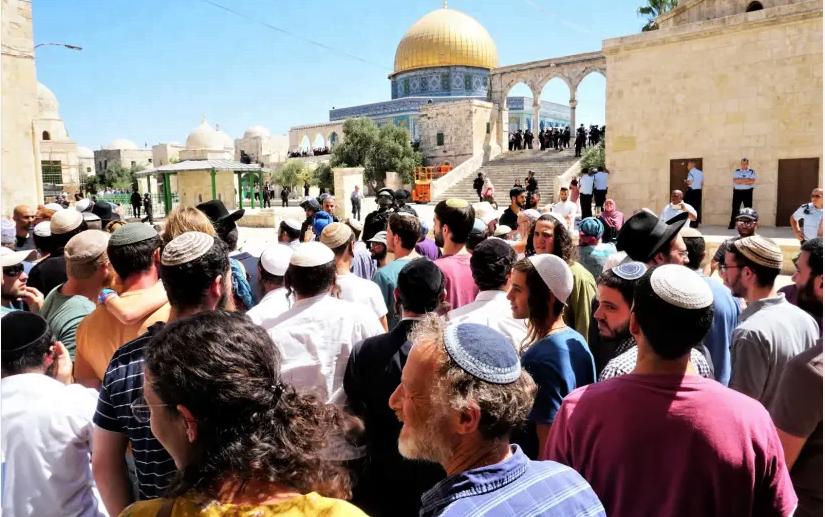 Mont du Temple à Jérusalem : Tisha Be'av coïncide une fois de plus avec l'Aïd al-Adha