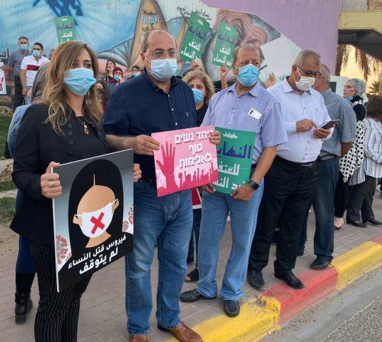 manifestation contre le meurtre des femmes en israel