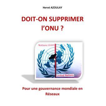 Livre juif : Doit-on supprimer l'ONU ?