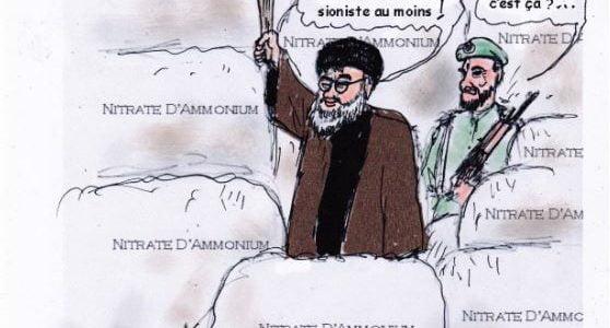 Reguel a une vague idée concernant l'explosion à Beyrouth, la seule possible, sacré Hassan