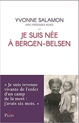 Livre juif : Je ne suis née à à Bergen Belsen