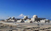 première centrale nucléaire de la péninsule arabique.
