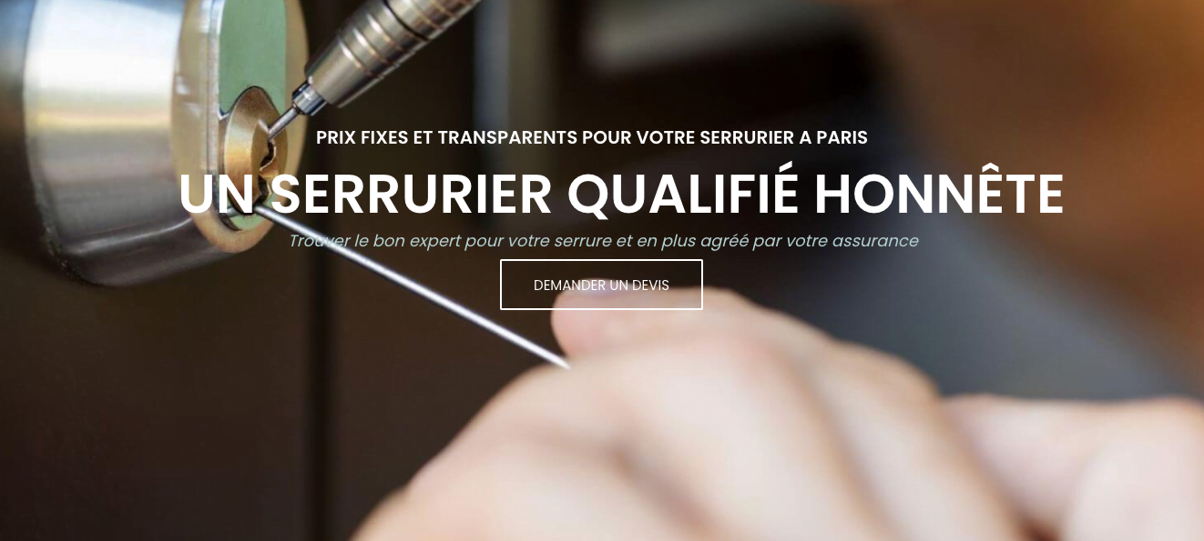Serrurier à Paris ouvert le mois d'août au 01 42 26 26 42 serrurier pas cher à Paris