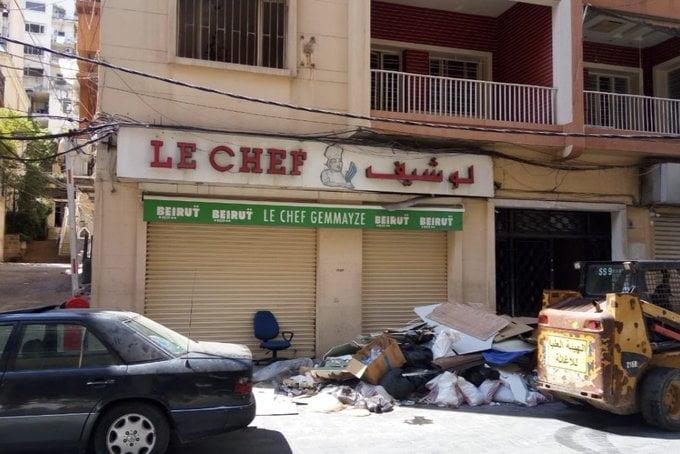 explosion meurtrière du port de Beyrout