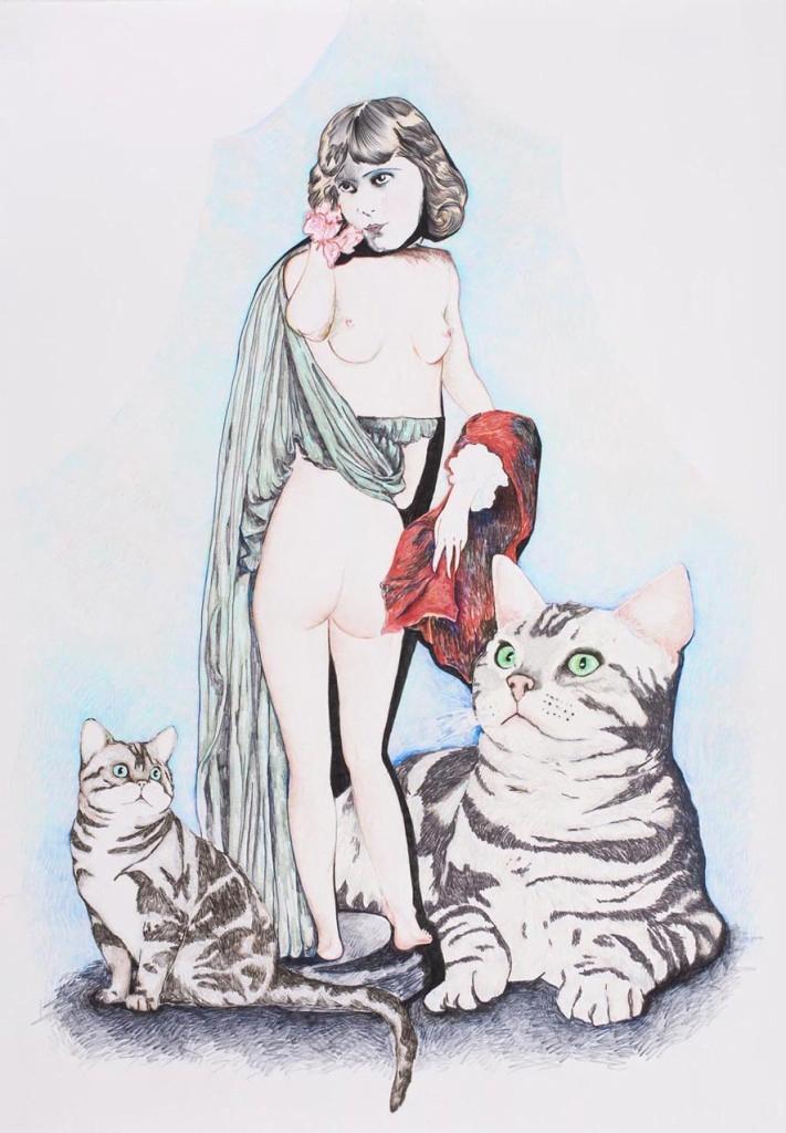 Artiste juive Alexandra Zuckerman : l'épanchement des possibles
