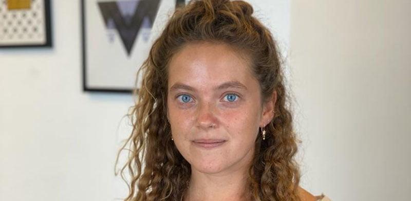 Rebecca reem 26 ans ex soldate israélienne menacée de mort par le BDS