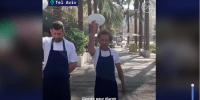 Confinement en Israël: des restaurateurs brisent des assiettes en signe de protestation