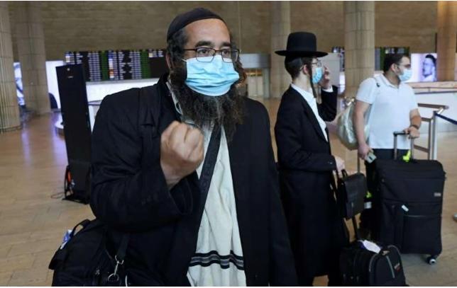 ouman juifs pélerins refusés