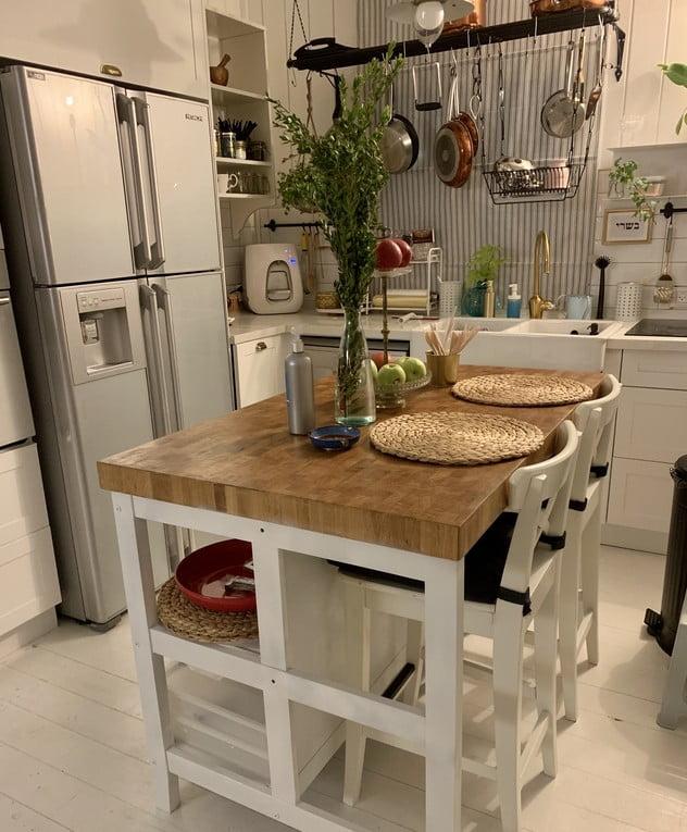 La cuisine de la maison de Keren Orr