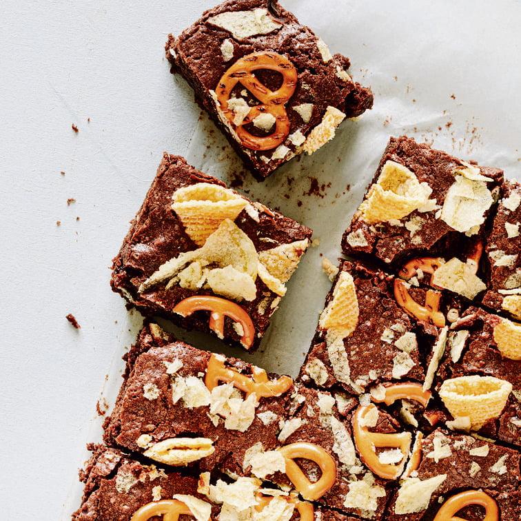 recette israélienne Pépites de chocolat avec bretzel et caramel salé