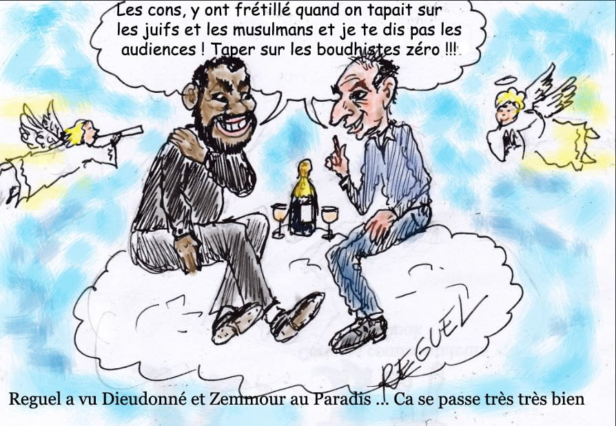 Eric Zemmour et Dieudonné se retrouvent enfin