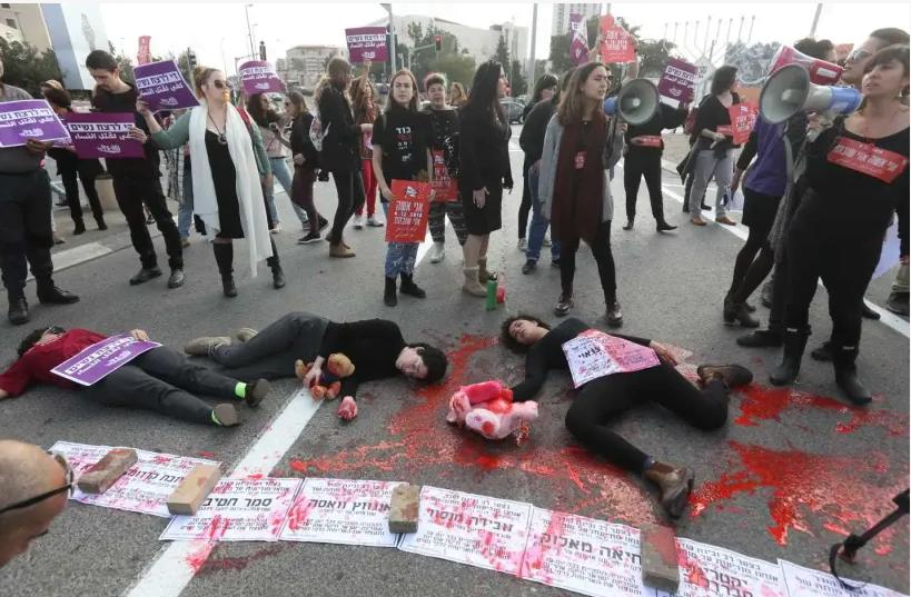 Meurtre de femmes par leur conjoint en Israël, le pays de révolte