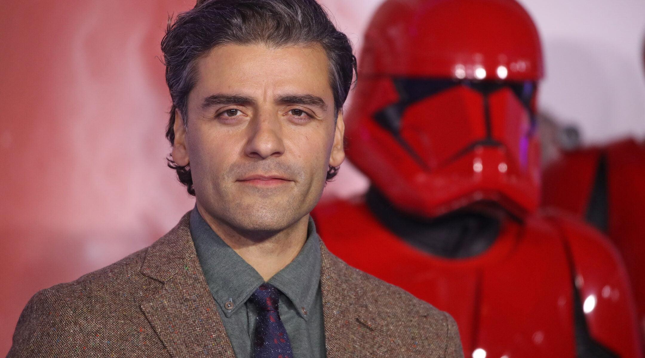 Oscar Isaac a assisté à la première européenne de «Star Wars: The Rise of Skywalker» à Londres le 18 décembre 2019. (Mike Marsland / WireImage)