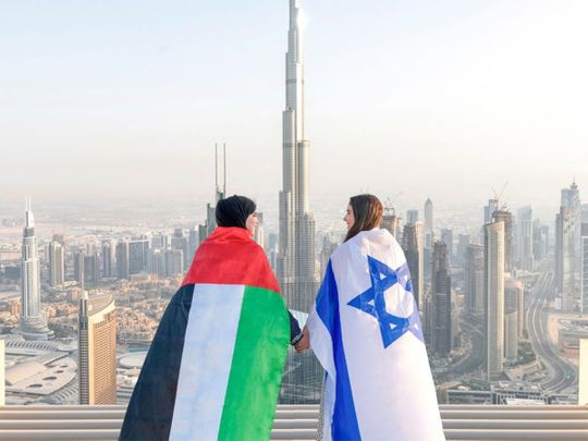 La psychologie de la paix entre Israël et aux Emirats arabes