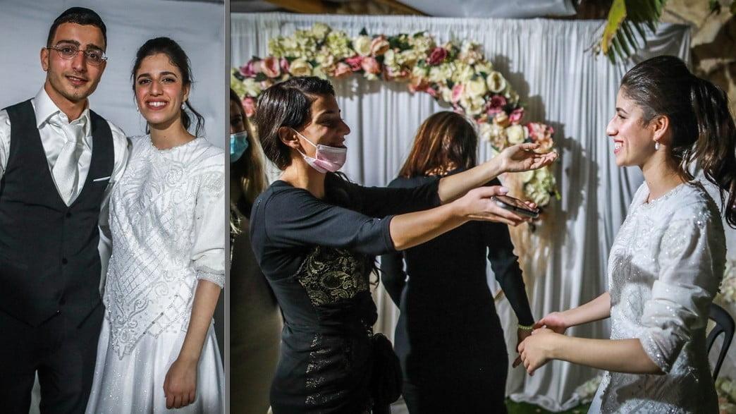 violente confrontation de la police lors d'un mariage en israel