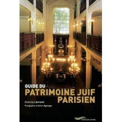 Livre juif : Guide du patrimoine juif parisien