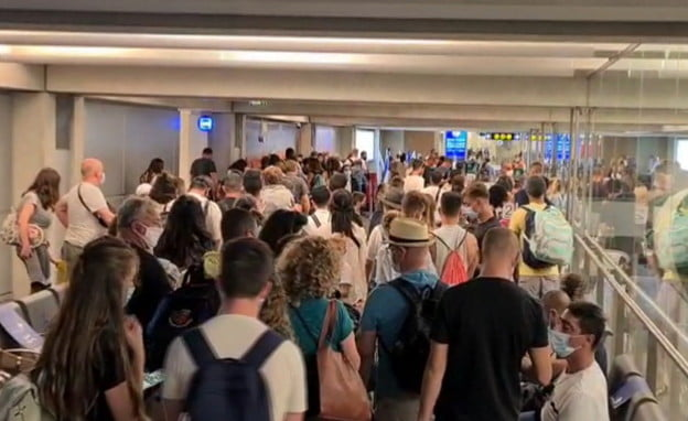 L'aéroport Ben Gourion ne respecte pas les régles sanitaires