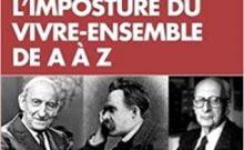 Livre juif : L'imposture du vivre-ensemble de A à Z de Paul-François Paoli