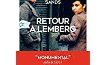 Livre juif : Retour à Lemberg de Philippe Sands