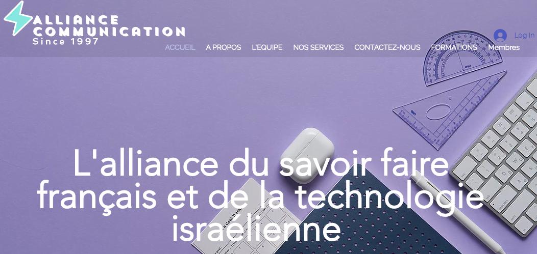 Alliance-Communication l'agence web franco-israélienne et votre transition numérique