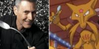 Uri Geller, l'illusionniste israélien autorise l'exploitation de sa carte de Pokemon par Nitendo