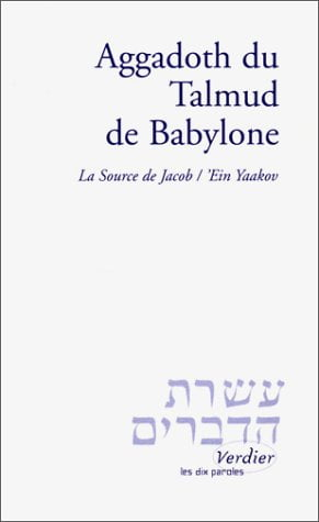 Livre juif : Agadoth du Talmud de Babylone