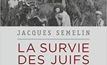 Livre juif : La survie des Juifs de France