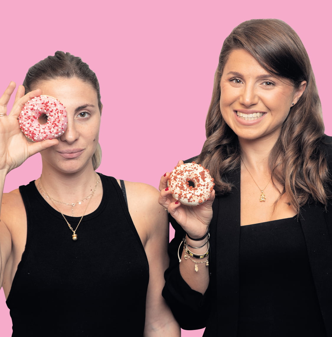 Soeurs et Israéliennes : Nous sommes les sœurs Kardashian du beignet
