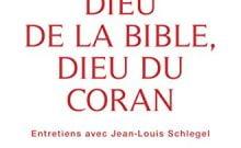 Livre juif : Dieu de la Bible, Dieu du Coran