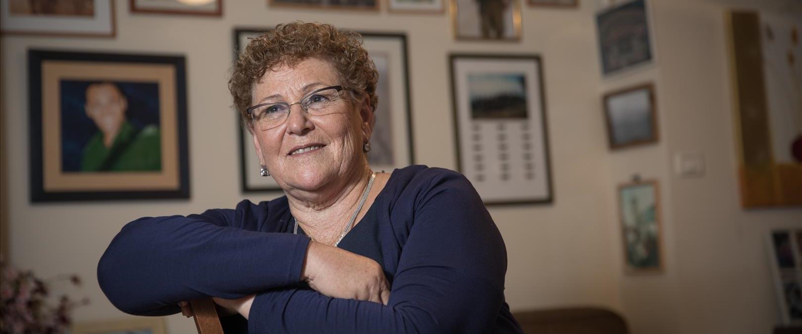 Miriam Peretz, pourrait devenir la première femme présidente d'Israël