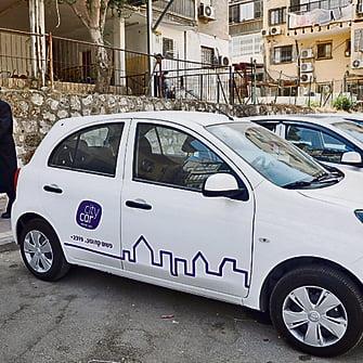 City Car se spécialise dans le secteur ultra-orthodoxe