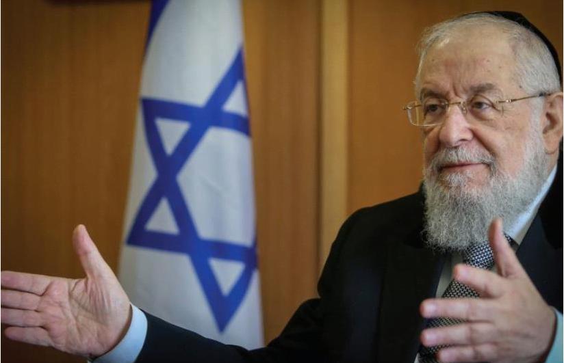 Le grand rabbin de Tel Aviv Yisrael Meir Lau (crédit photo: MARC ISRAEL SELLEM)