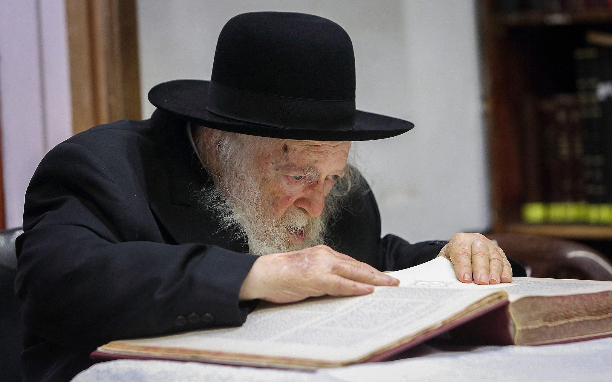 Le rabbin Chaim Kanievsky,
