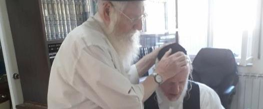 le rabbin Menachem Mendel Meshi Zahav,