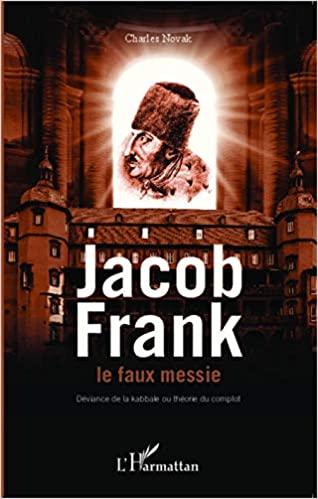 Livre juif : Jacob Frank , le faux messie