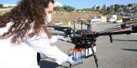 High Tech : Israël prévoit le premier test mondial pour les livraisons par drones