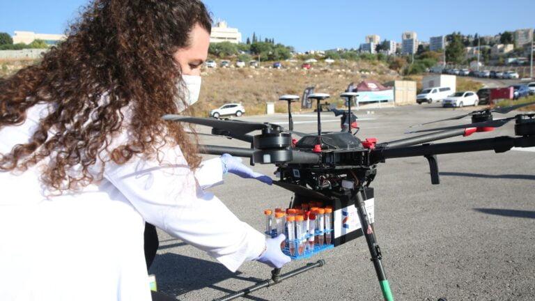Israël prévoit le premier test mondial pour les livraisons par drones
