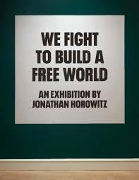 Artiste juif : Jonathan Horowitz artiste et activiste