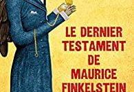 Livre juif : Le dernier testament de Maurice Finkelstein
