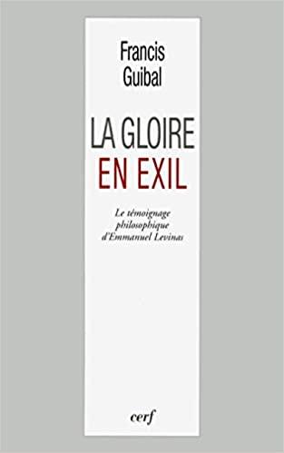 Livre juif : La Gloire en exil de Francis Guibal
