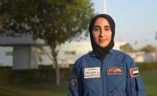 Première femme astronaute aux Emirats arabes unis
