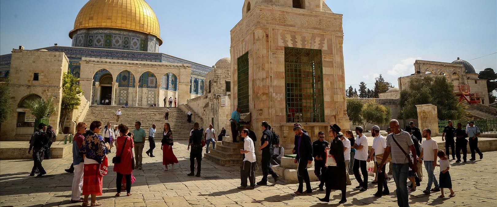 Le Mont du Temple interdite aux juifs le jour de Jérusalem