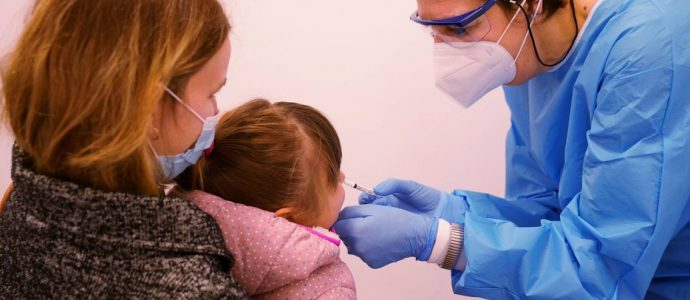 Pfizer veut vacciner les enfants à partir de 2 ans en Israël dès septembre