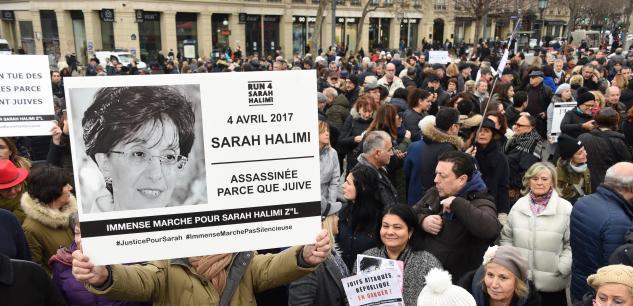 AFFAIRE SARAH HALIMI: LA JUSTICE FRANÇAISE PEUT ENCORE DÉCIDER UN PROCÈS