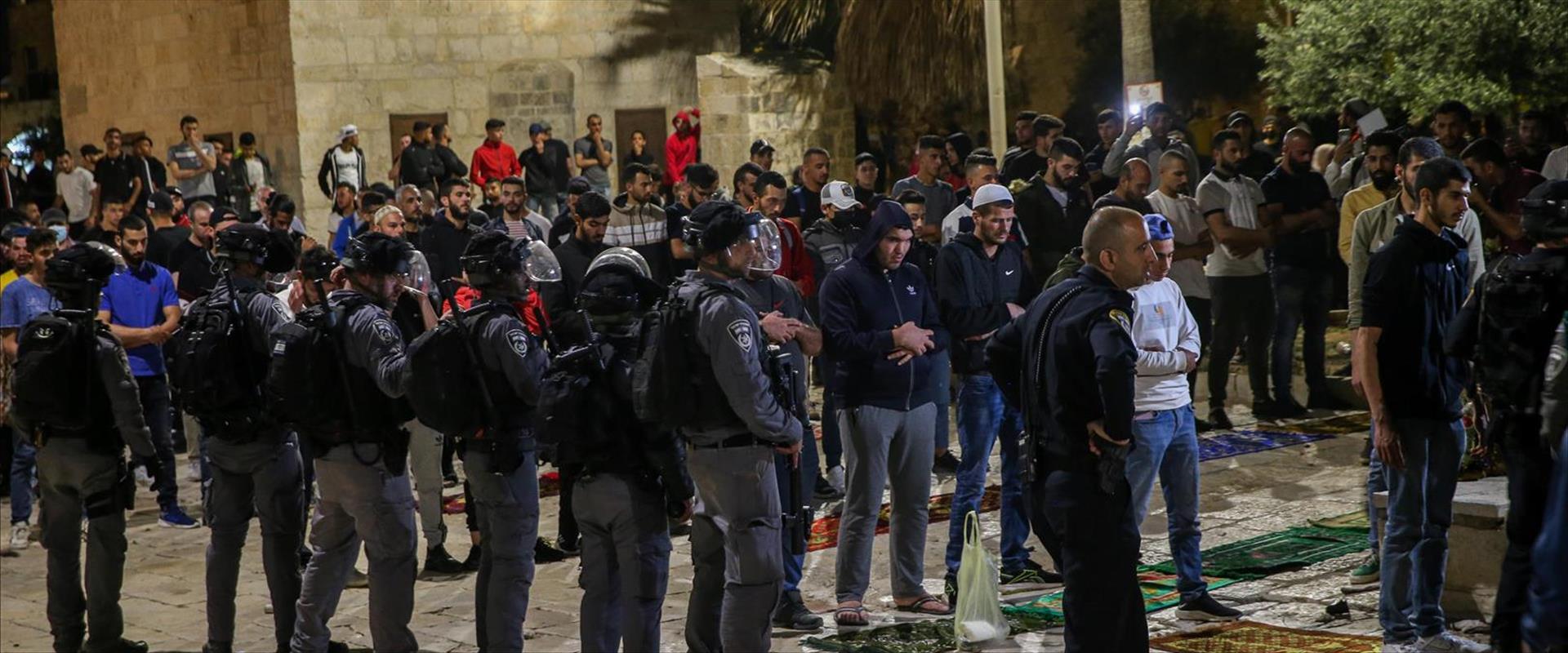 La police se prépare aux affrontements ce soir à Jérusalem